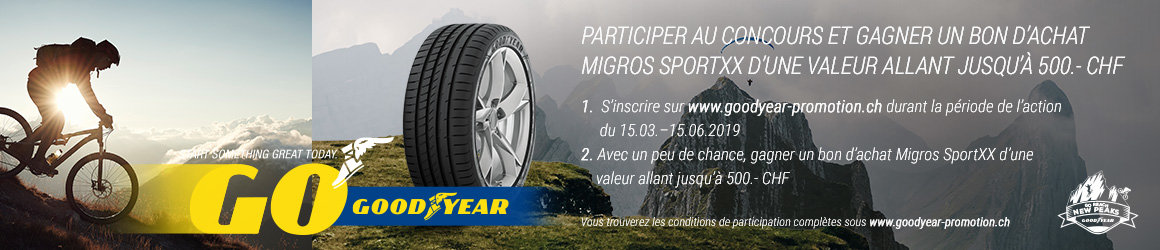Goodyear tire au sort 9x 1 annee de carburant gratuit